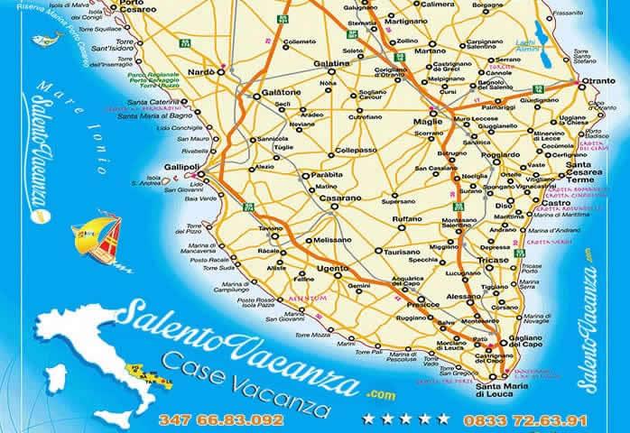 Itinerario nel Salento
