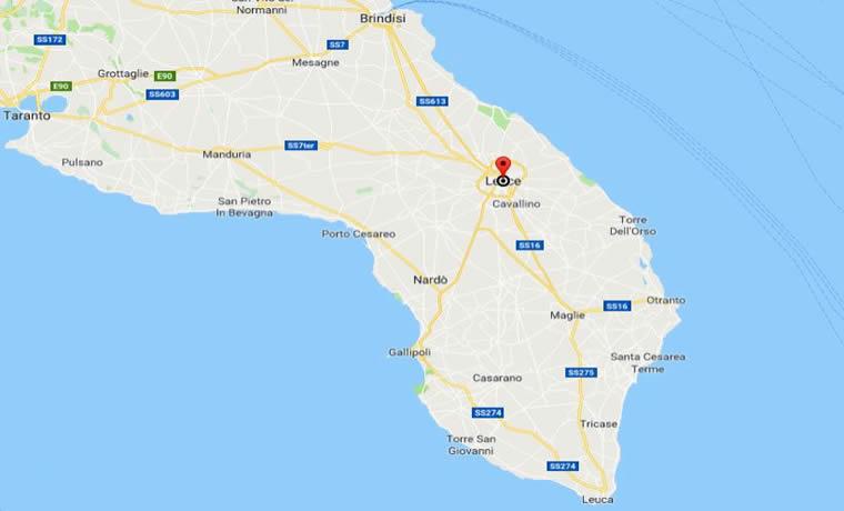 Lecce Salento come arrivare